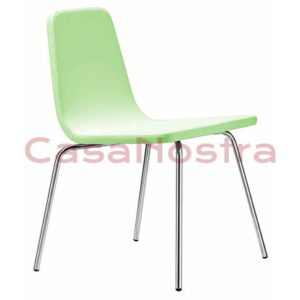 Стул METALMOBIL AQUA CR olive green 158