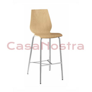 Стул METALMOBIL nuvola CR 311 light walnut