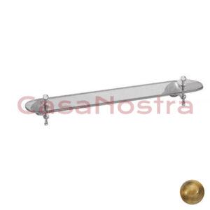 Полка стеклянная GIULINI Bagno ibisco RG1109 BR