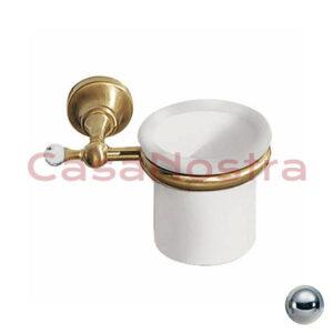 Стакан для зубных щеток GIULINI Bagno ibisco RG1106 CROMO