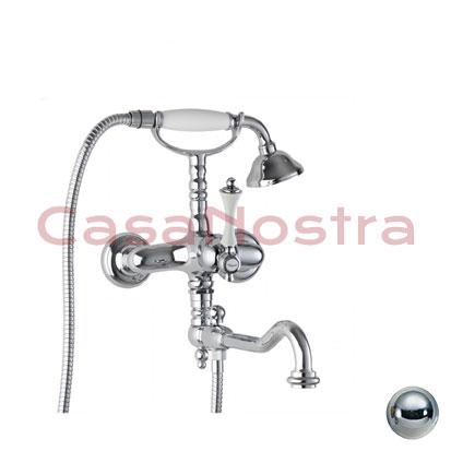 Смеситель для ванны с лейкой BIANCHI Liberty VSCLIB108300 CRB