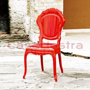 Стул DAL SEGNO Belle Epoque rosso