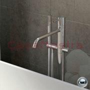 Смеситель для ванны с лейкой напольный X-Change Mono Ran X-Change Mono 5703ZZ07