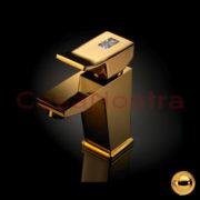 Смеситель для раковины MAIER Surf Diamond 56.004 gold