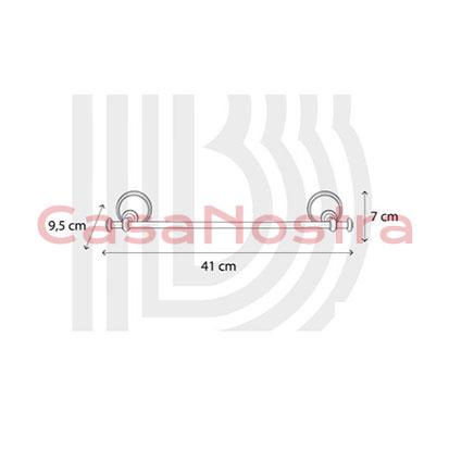 Держатель для полотенец BIANCHI CLASSIC ACBCLA070000 CRM