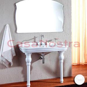 Набор умывальник и ножки керамические Olympia Ceramica Impero