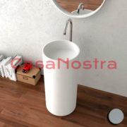 Умывальник iStone Coleen washbasin WD38374 ASH Matte Grey