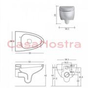 Унитаз NIC Design Barca 003 010