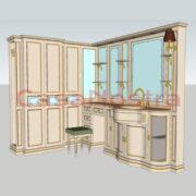 Набор для ванной комнаты Eurodesign il borgo comp 38